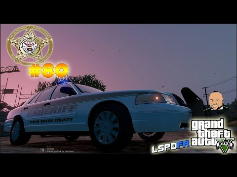 GTA 5 LSPDFR | WEST PALM BEACH SHERIFF PATROL | LIVE | GTA 5 REAL LIFE Police Mod | #80 #ROAD TO 500