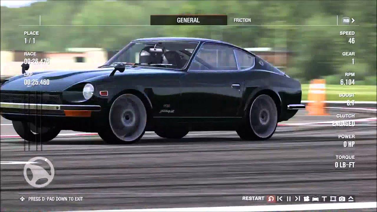 forza motorsport 4 1969 nissan fairlady z 432 top gear test track youtube. Black Bedroom Furniture Sets. Home Design Ideas