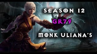 Video DIABLO 3 SEASON 12 GREATER RIFT 79 MONK ULIANA'S BUILD download MP3, 3GP, MP4, WEBM, AVI, FLV April 2018