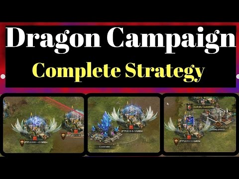 DRAGON CAMPAIGN EXPERT STRATEGY GUIDE (DD COMMENTARY CLASH OF KINGS)