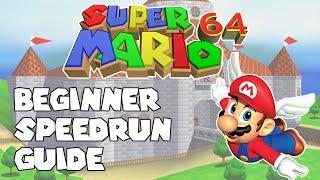 Super Mario 64 Speedrun Guide - Getting Started