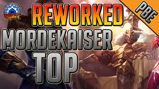 League of Legends - Reworked King of Clubs Mordekaiser Top - Full Game Commentary