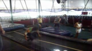 Entrenando En El Circo Servian!