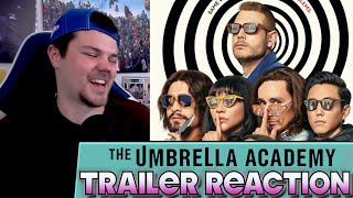 The Umbrella Academy Season 2 Trailer REACTION