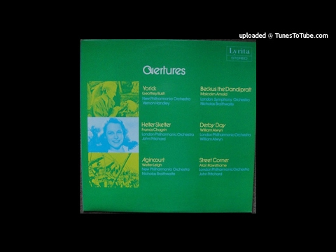 British Overtures (originally on Lyrita LP SRCS 71)
