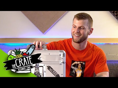 Alexander Lewis Creates A Beat On The Spot | The Crate