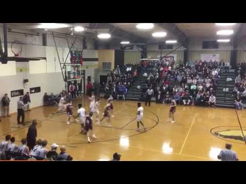 Full court shot buzzer beater - Clay Pilgrim from East Lawrence High School