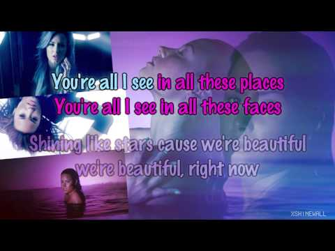 Demi Lovato - Neon Lights [Karaoke/Instrumental] (Final Version)
