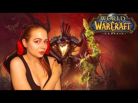 Обзор игры World of Warcraft Classic маг 40 лвл+ Пламегор За Орду