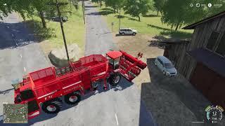 Buraki Cukrowe Holmerem E22 | Farming Simulator 19