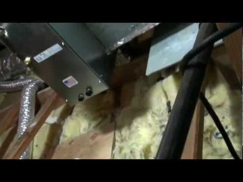Hvac install two 3 ton evaporator coils doovi for Air conditioner slab