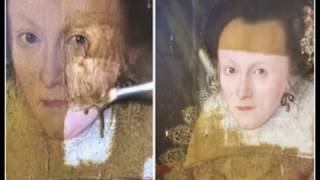Art Expert Removes 200 Year Old Yellowing Varnish From A 399 Year Old Painting, And The Difference