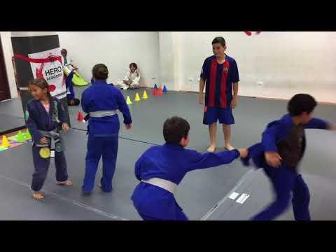 Brazilian Jiu Jitsu Games For Kids | BJJ in Costa Rica | Hero Academy