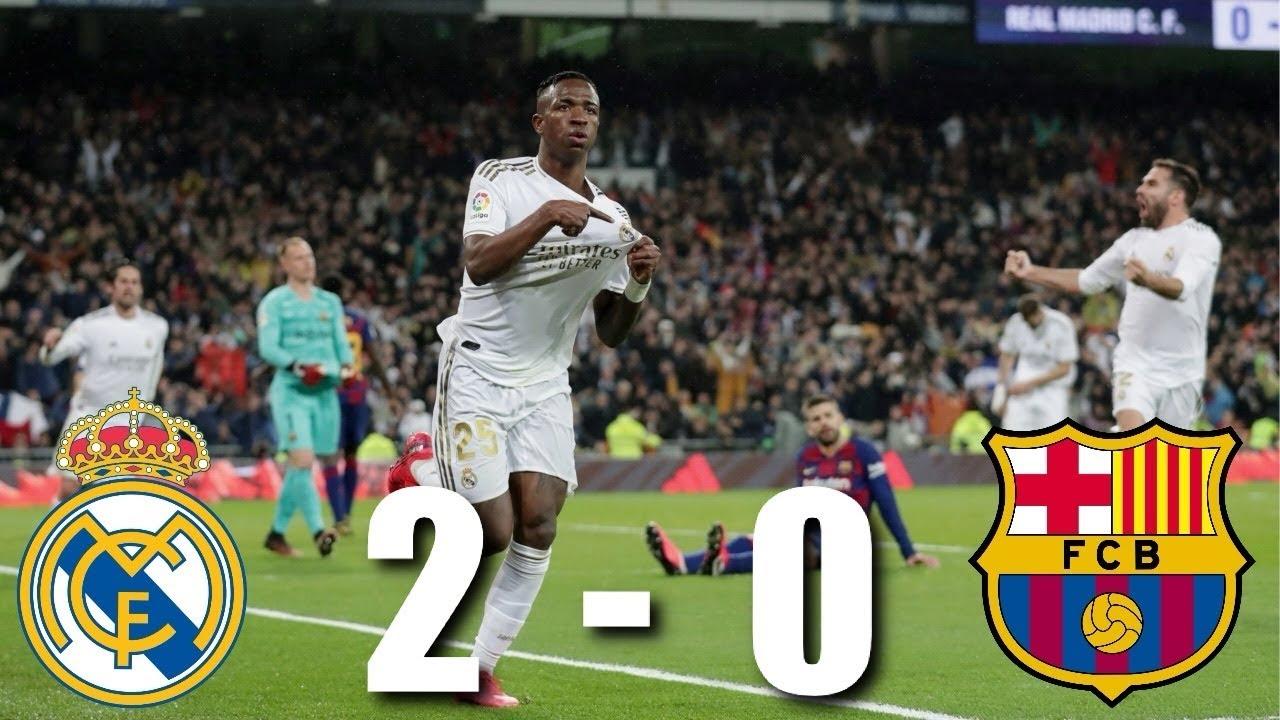 Real Madrid Vs Barcelona 2 0 El Clasico La Liga 2020 Match Review Youtube