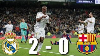 Download the onefootball app here - http://tinyurl.com/tgpx5et vinicius junior scored a decisive second half goal for real madrid, who returned to top of...