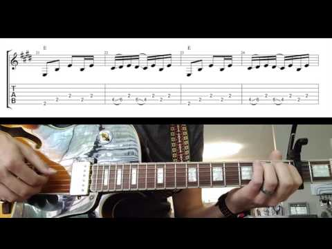 Either Way by Chris Stapleton_Guitar Parts (with TABS)