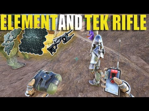 ELEMENT AND TEK RIFLE LOOT!!   SMALL TRIBE SERVERS PVP S2 Ep17