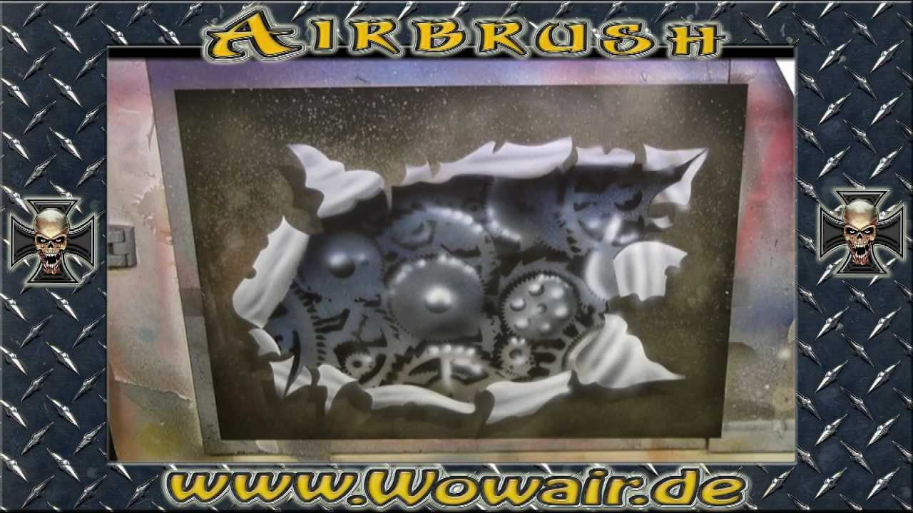 No 279 Airbrush By Wow Quot How To Metal Torn Open