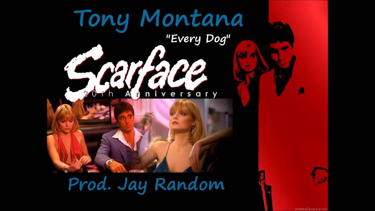 Hot Sold Scarface Tony Montana Al Pacino Every Dog Has Its