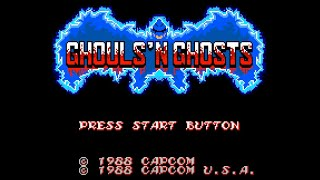 [Casual Longplay - 002] Ghouls 'n Ghosts (Master System)