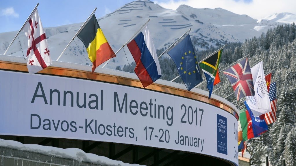 World Economic Forum: China's Xi headlines Davos forum as US makes transition