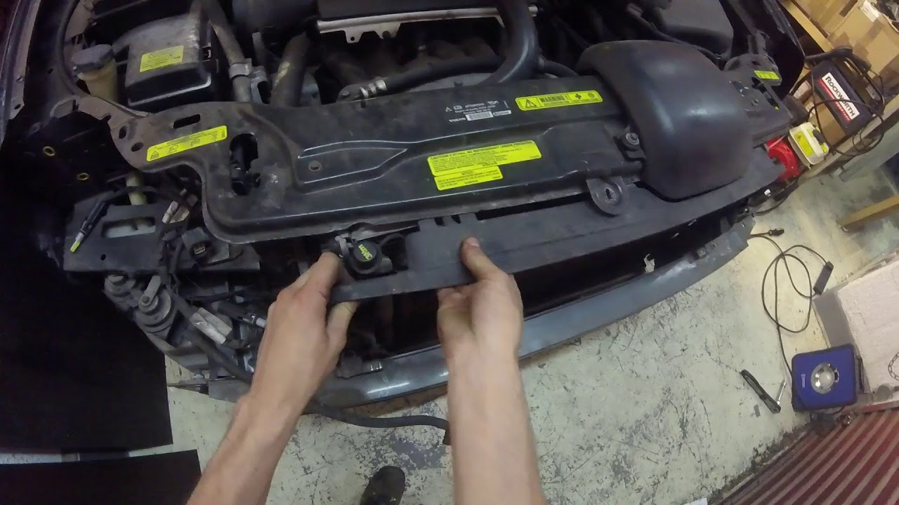 Xc90 Condenser Removal How To Remove The Air Conditioning