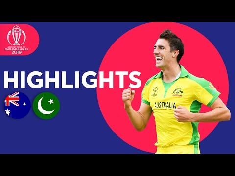 Australia vs Pakistan - Match Highlights | ICC Cricket World