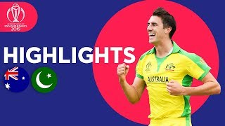 Australia vs Pakistan Match Highlights | ICC Cricket World Cup 2019