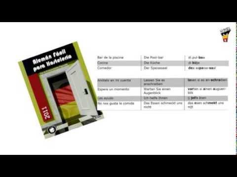 Alemán Fácil para Hostelería - YouTube