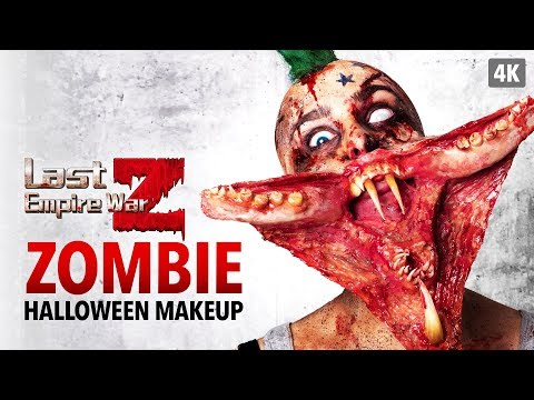 Last Empire War Z - Zombie Halloween Makeup Tutorial