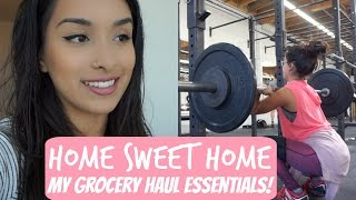 Home Sweet Home | My Grocery Haul ESSENTIALS!