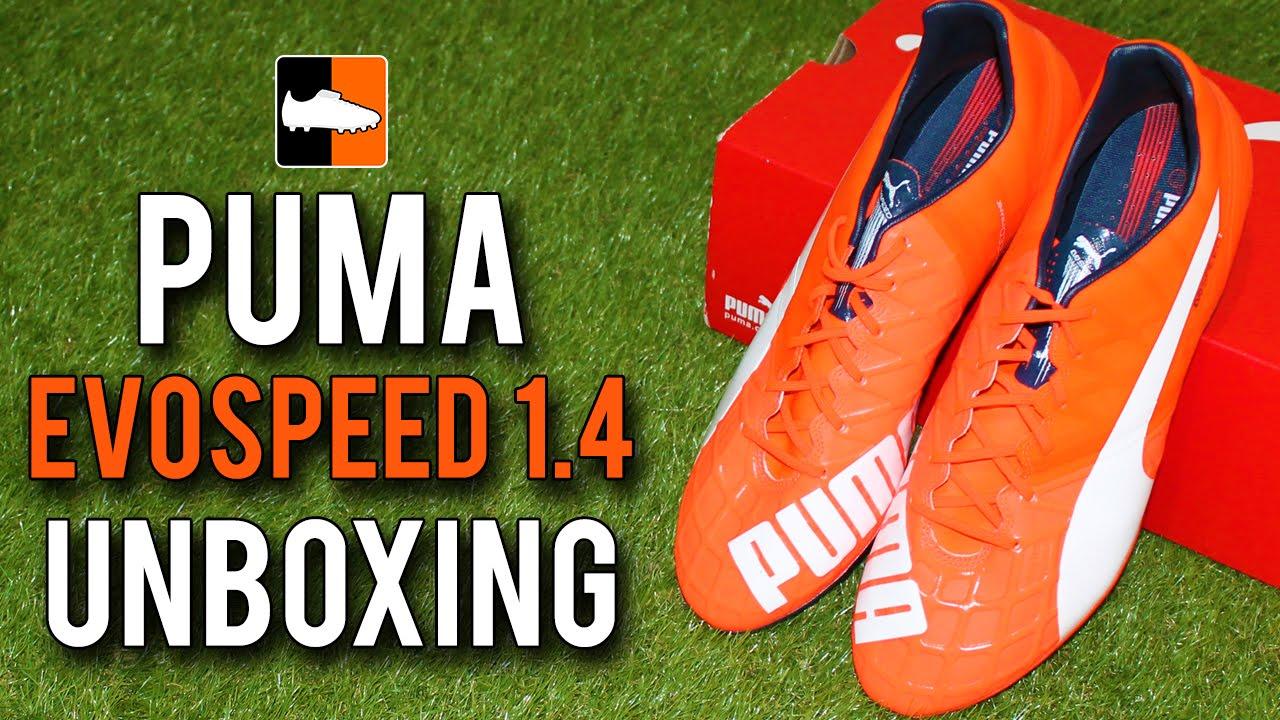 42ee2b59c1c2 PUMA evoSPEED 1.4 Unboxing - New Speed Generation - YouTube