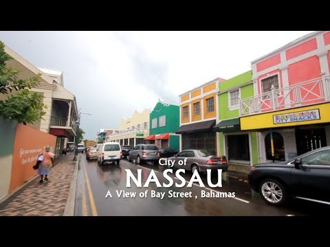City of Nassau : A view of Street