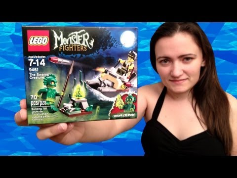 LEGO Monster Fighters 9461 The Swamp Creature LEGO Review