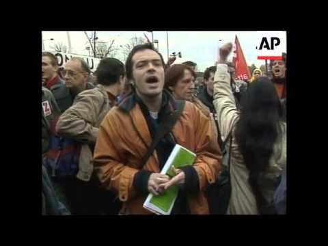 Protests against the production of genetically modified foods