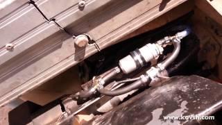 Установка обратного клапана на топливный насос центробежного типа