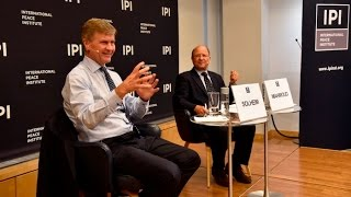 Leading for Peace: Erik Solheim, Executive Director of UN Environment