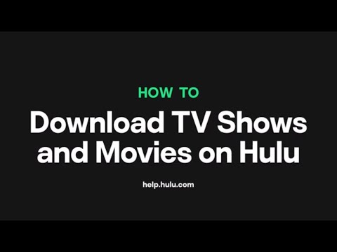 How To Download And Watch TV Shows And Movies On Hulu — Hulu Support