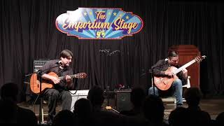 Edgar & Mark Cruz at the Emporium in Woodville, TX 11-10-2018