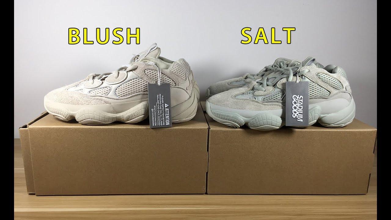 yeezy salt and blush