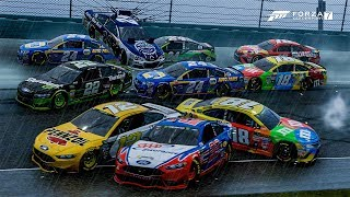 Downpour Destruction! | Forza Motorsport 7 | NASCAR