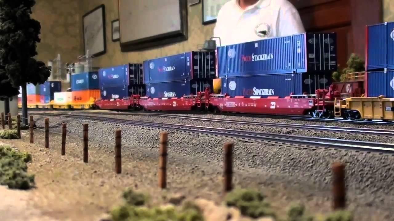 Encuentro Ferromex Intermodal Y Tren KCSM Patios Maqueta