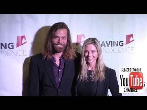Mira Sorvino and Christopher Backus at the Saving Innocence's 5th Annual Gala at Loews Hollywood Hot