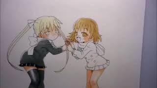『キルミーベイベー』の二人描いてみた thumbnail