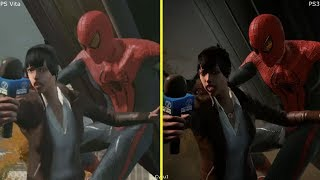 The Amazing Spider-Man PS Vita vs PS3 Graphics Comparison