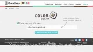 QuickMark Couleur - Comment créer un univers coloré QR Code