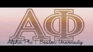Alpha Phi Bid Day 2015 - Boston University