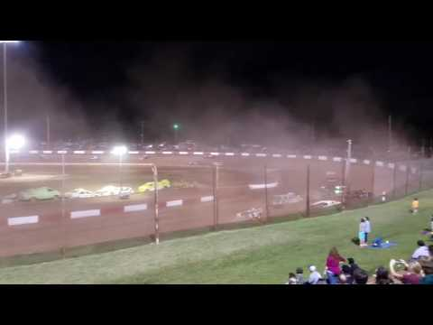 Waterless Boat Race at Dixie Speedway