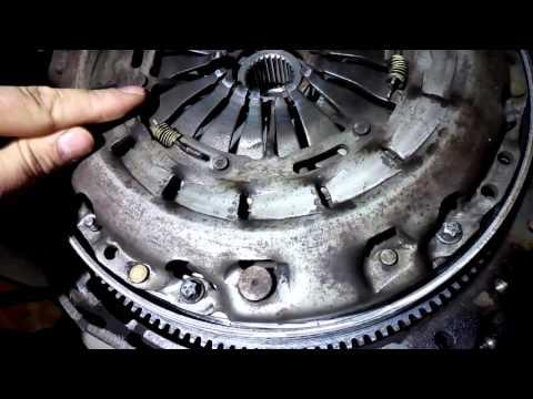 Как взвести корзину сцепления Вито (Vito) 638