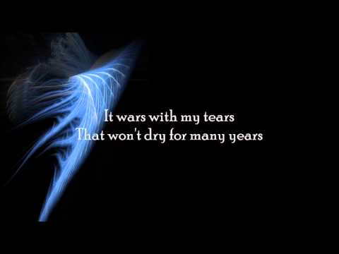 My Dying Bride - For My Fallen Angel (Lyrics)